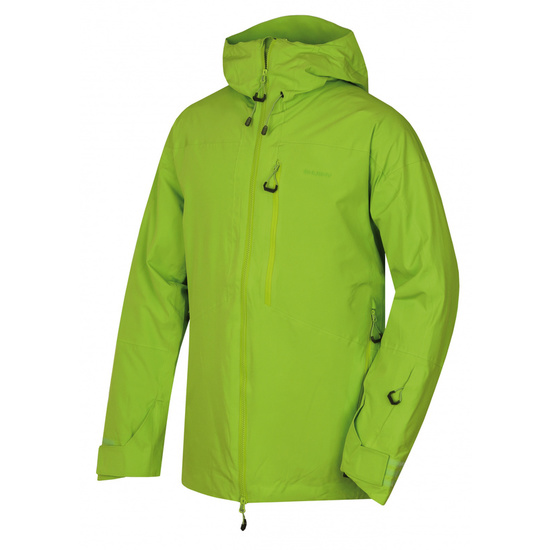 Pánska lyžiarska bunda Husky gomez M zelená XXL
