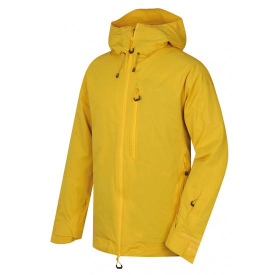 Pánska lyžiarska bunda Husky gomez M žltá M