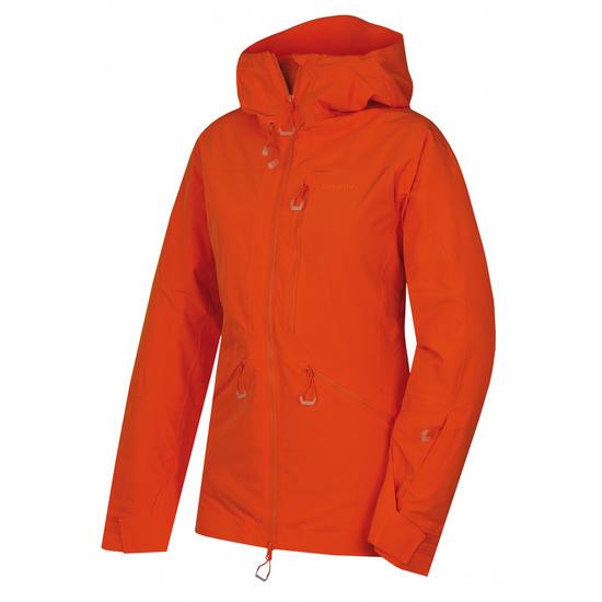Dámska lyžiarska bunda Husky gomez l výrazne oranžová M