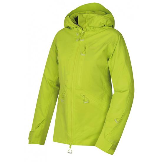 Dámska lyžiarska bunda Husky gomez l výrazne zelená L