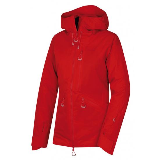 Dámska lyžiarska bunda Husky gomez l červená XL