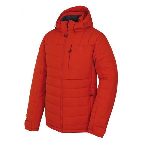 Pánska plnená zimný bunda Husky NORELEM M tehlová M