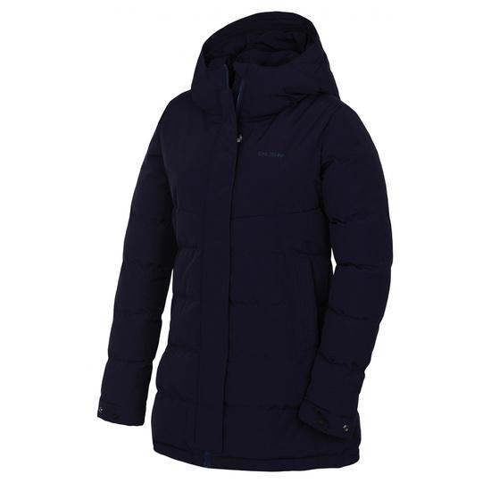 Dámsky hardshell plnený kabátik Husky Nilit L tm. modrofialová L