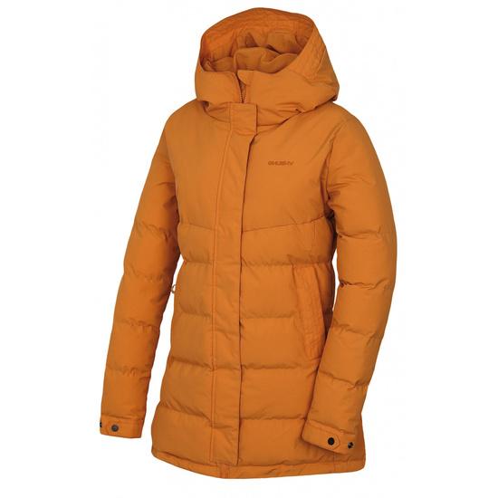 Dámsky hardshell plnený kabátik Husky Nilit L hr. oranžová L