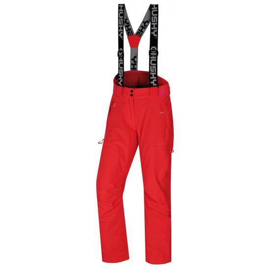 Dámske lyžiarske nohavice Husky Mital L neónovo ružová M