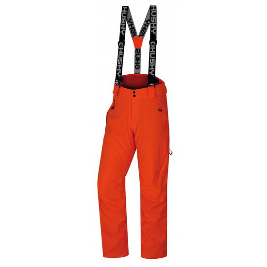 Pánske lyžiarske nohavice Husky Mital M neónovo oranžová S