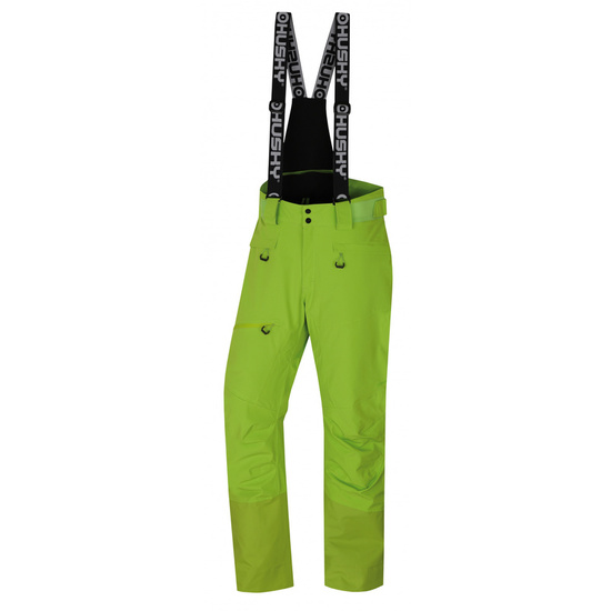 Pánske lyžiarske nohavice Husky Gilep M zelená L