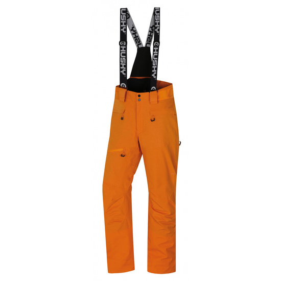 Pánske lyžiarske nohavice Husky Gilep M oranžová L