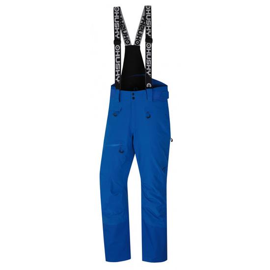 Pánske lyžiarske nohavice Husky Gilep M modrá L