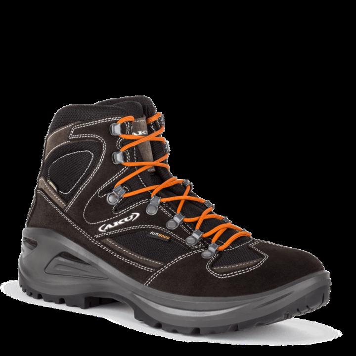 Pánske topánky AKU Sendera GTX čierno / oranžová 11 UK