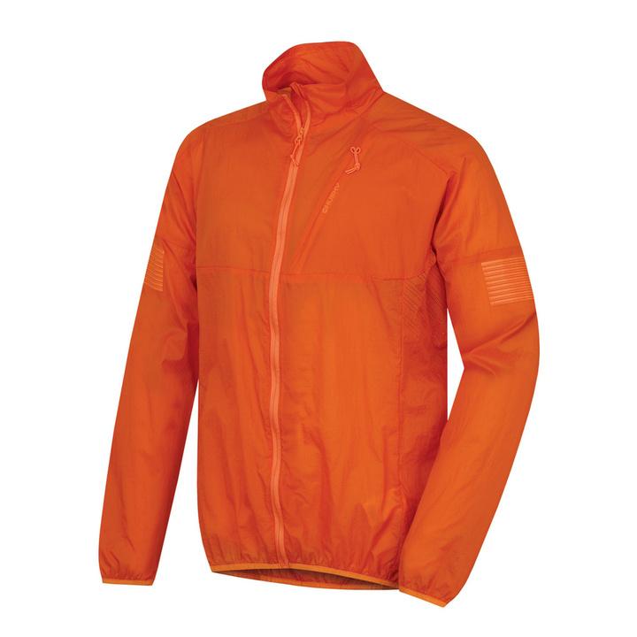 Pánska ultraľahká bunda Loco M oranžová XL