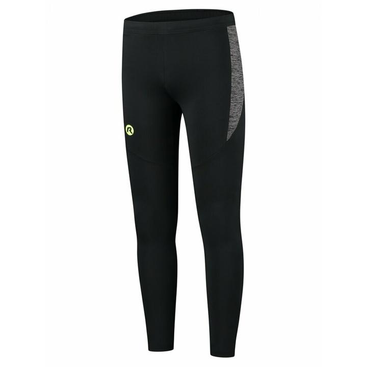 Pánske bežecké nohavice Rogelli Enjoy čierno-reflexná žlté ROG351100 M