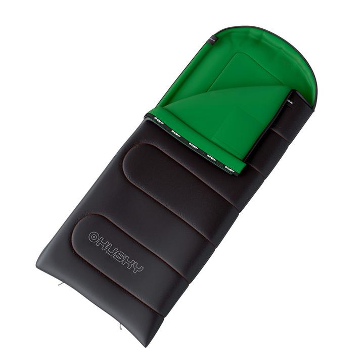 Dekový spací vak Husky Gala 0°C šedá/zelená