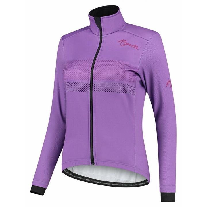 Dámska zimná bunda Rogelli Purpose fialová ROG351085