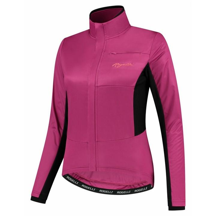 Dámska zimná bunda Rogelli Barrier ružová ROG351092