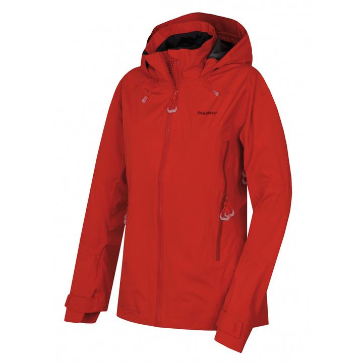 Dámske outdoorové oblečenie bunda Husky Nakron L červená XL