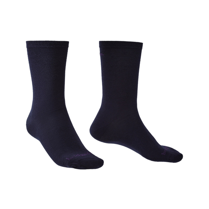 Ponožky Bridgedale Liner Thermal Liner Boot X2 navy/428 S (3-5,5)