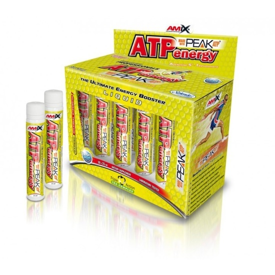 Amix ATP Energy Liquid 10x25ml - Citrón