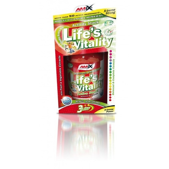 Amix Life 's Vitality Active Stack 60 tablet BOX