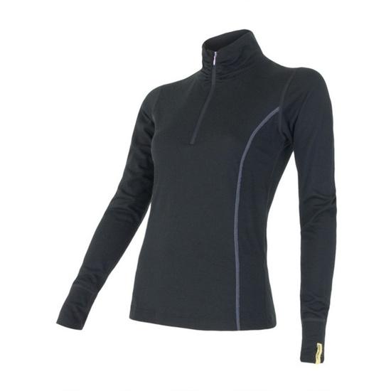 Dámske triko Sensor Merino Wool Active čierne 11109018 L