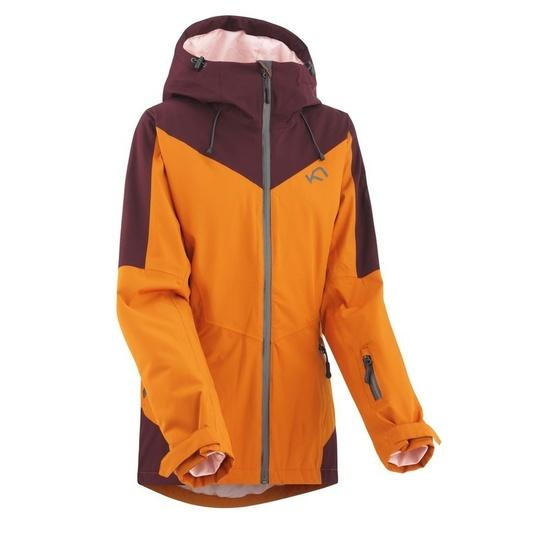 Dámska športové bunda Kari Traa Bump Rust XS