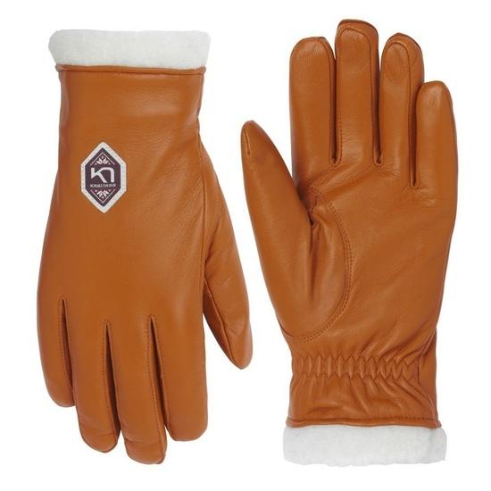 Dámske kožené rukavice Kari Traa Himle Rust 8