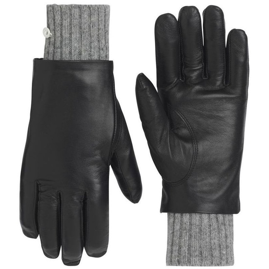 Dámske kožené rukavice Kari Traa Gjerde Black 6
