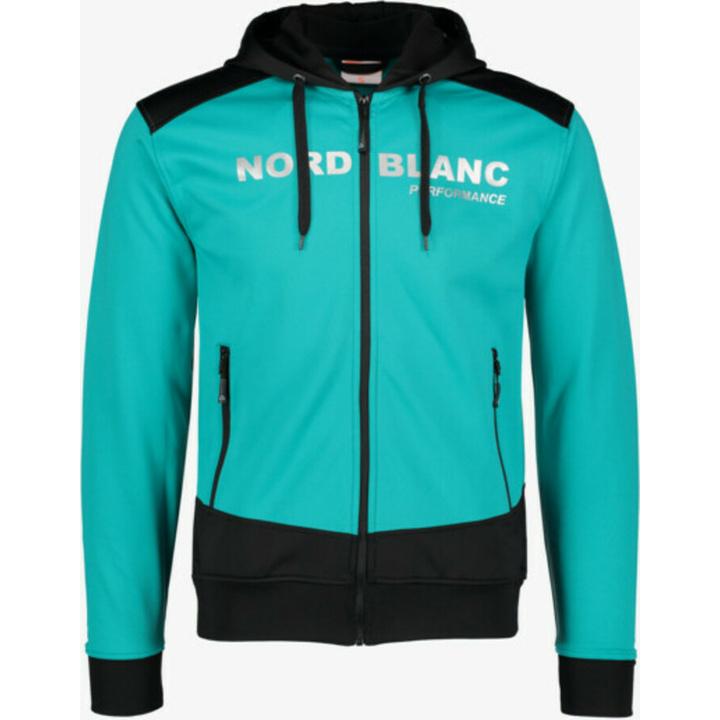 Pánska športové mikina Nordblanc s kapucňou NBSMS5615_MOL S