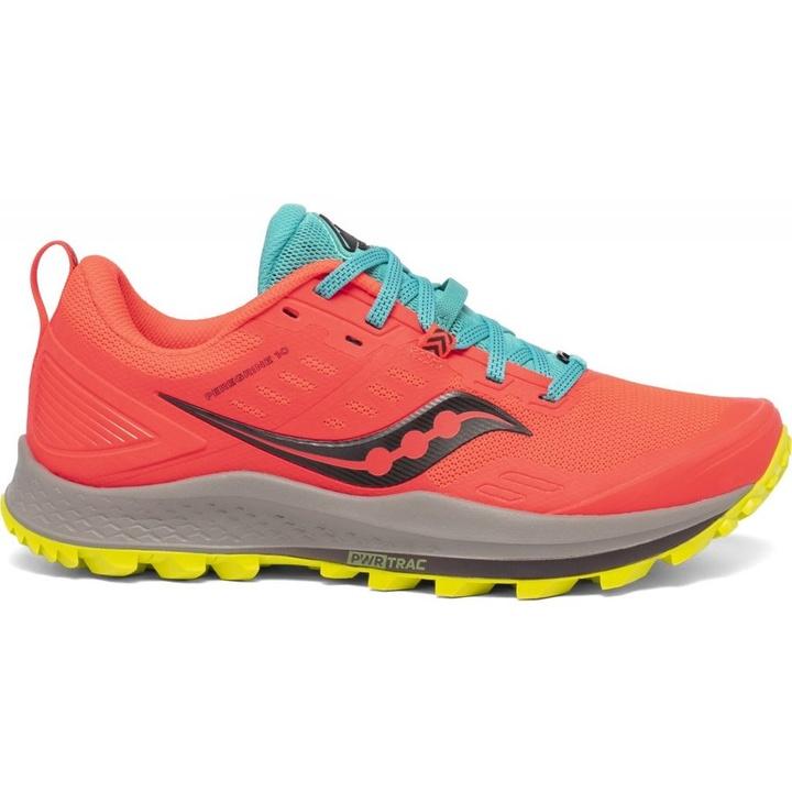 Dámske bežecké topánky Saucony Peregrine 10 oranžové 39