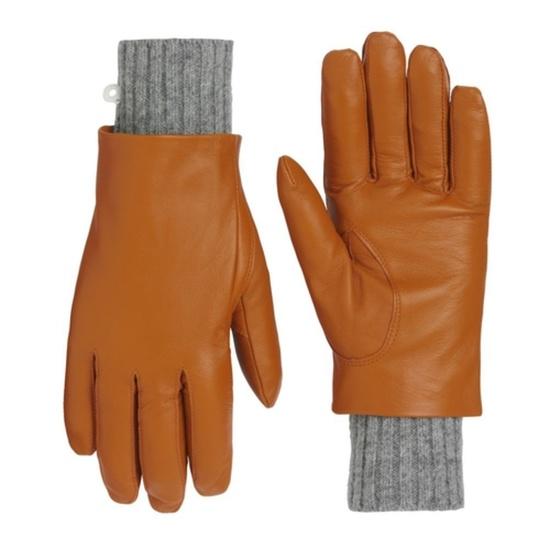 Dámske kožené rukavice Kari Traa Gjerde Rust 6