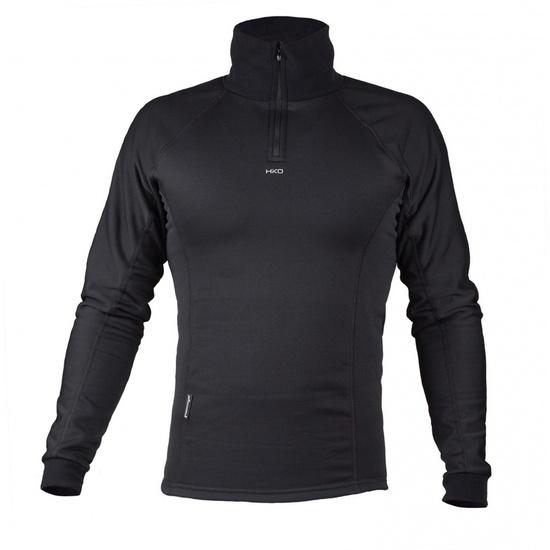 Tričko Hiko Šport Teddy zipper 33301 čierne M