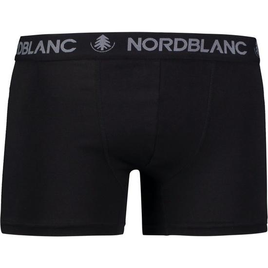 Pánske bavlnené boxerky NORDBLANC Fiery NBSPM6866_CRN S