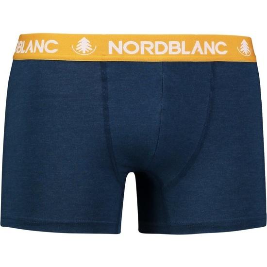 Pánske bavlnené boxerky NORDBLANC Fiery NBSPM6866_ZEM S