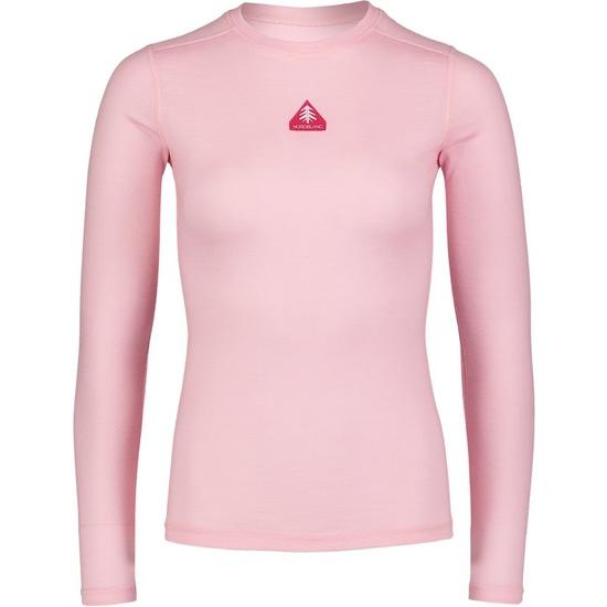 Dámske termo triko Nordblanc Union ružové NBWFL6873_KRR 40