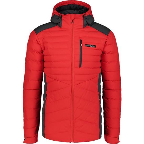 Pánska zimný bunda Nordblanc Shale červená NBWJM6910_MOC XXXL