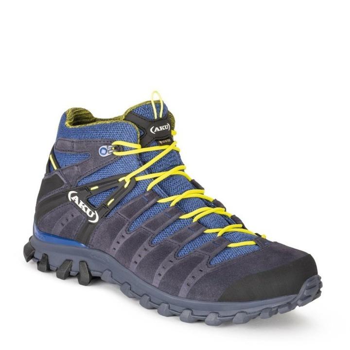 Topánky pánske AKU Alterra Lite GTX Mid dámska šedo / sv.modrá 10 UK