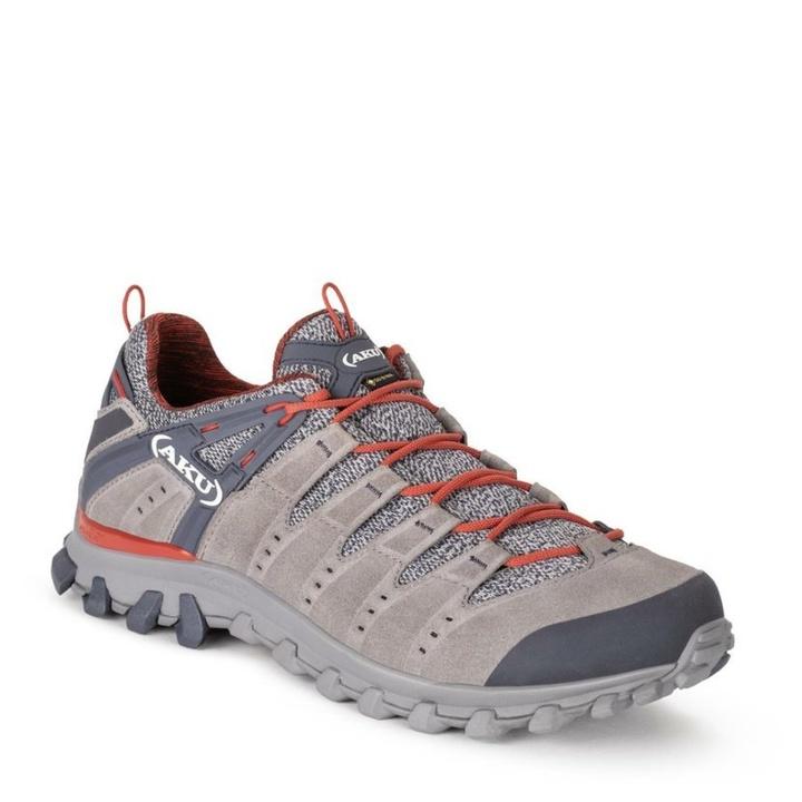 Topánky pánske AKU Alterra Lite GTX šedo / červená 10 UK