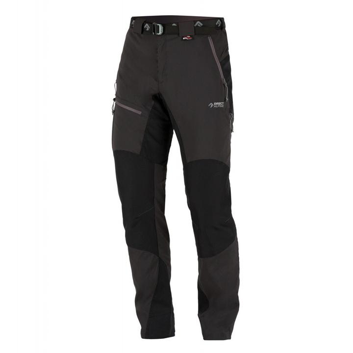 Nohavice Direct Alpine Patrol Tech anthracite / black M