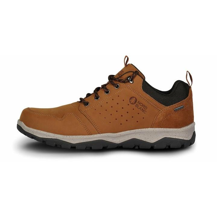 Pánska koža outdoorová obuv Nordblanc Primo NBSH7444_TAN 46