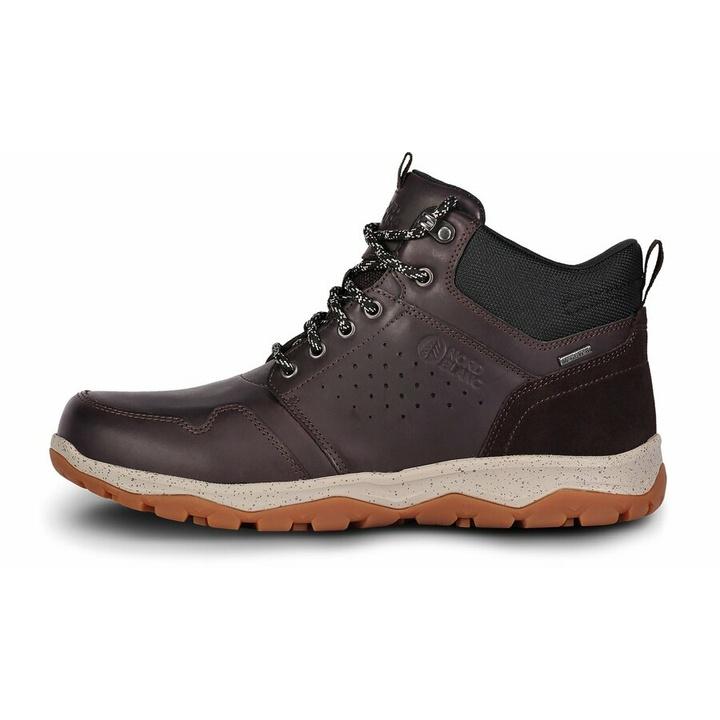 Pánska koža outdoorová obuv Nordblanc Futuro NBSH7445_BRN 46