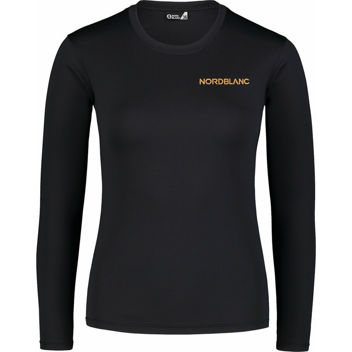Dámske fitness tričko Nordblanc Clash čierna NBSLF7448_CRN 34