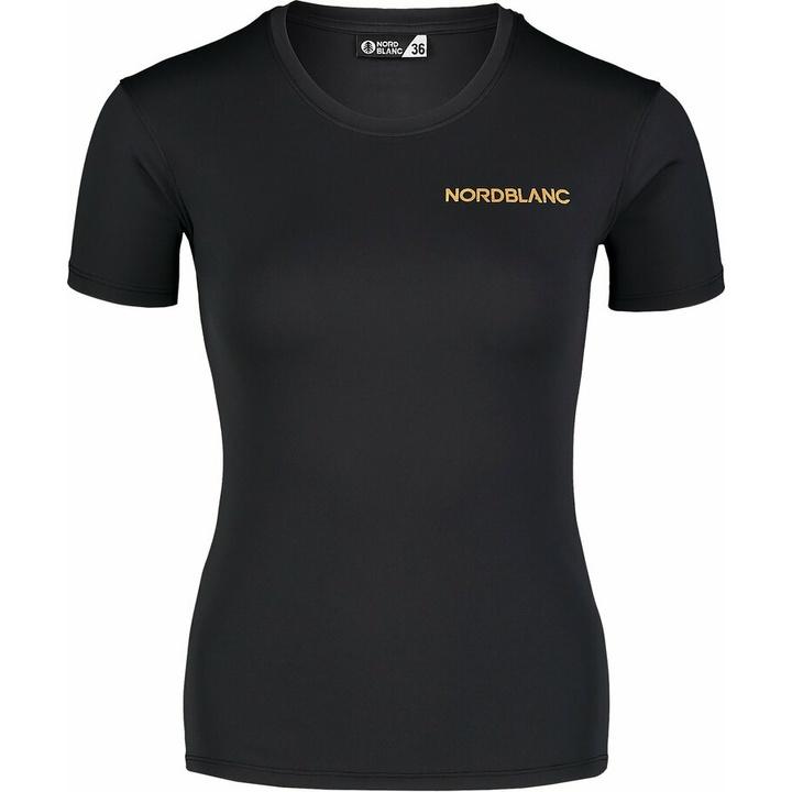 Dámske funkčné tričko Nordblanc Training čierne NBSLF7450_CRN 36