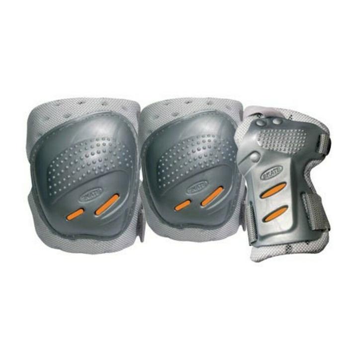 Chrániče Tempish Cool Max 3 strieBorná/oranžová