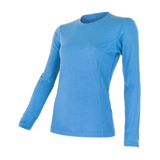 Dámske triko Sensor Merino Wool Active modrá 12110026 L