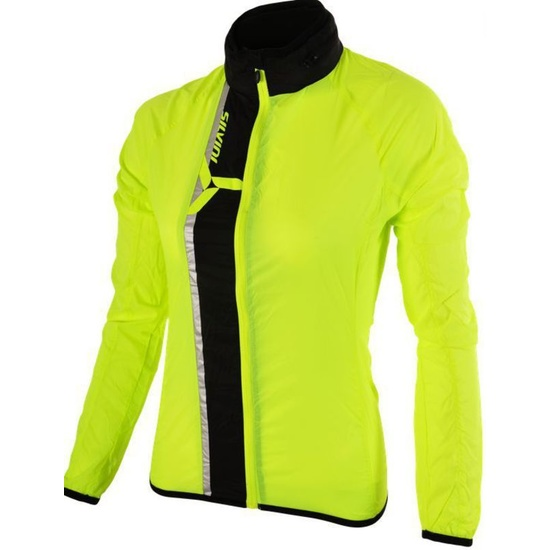 Dámska ultra light bunda Silvini GELA WJ802 neon-black