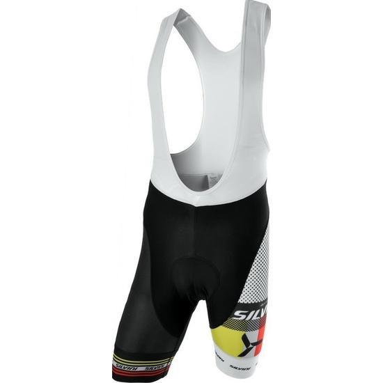 Pánske cyklistické nohavice Silvini TEAM TOP MP839 black