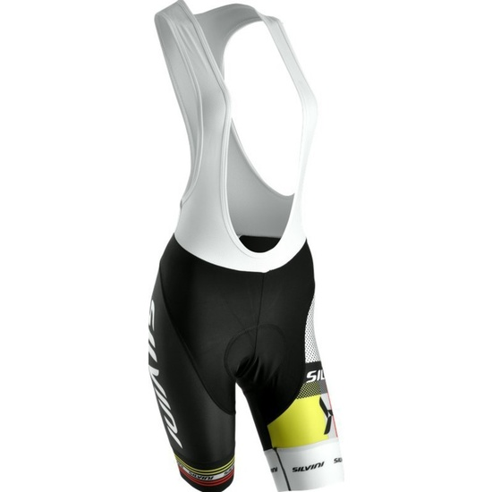 Dámske cyklistické nohavice lacl Silvini TEAM WP841 black