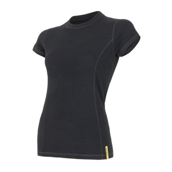Dámske triko Sensor Double Face Merino Wool čierne 15100017 S