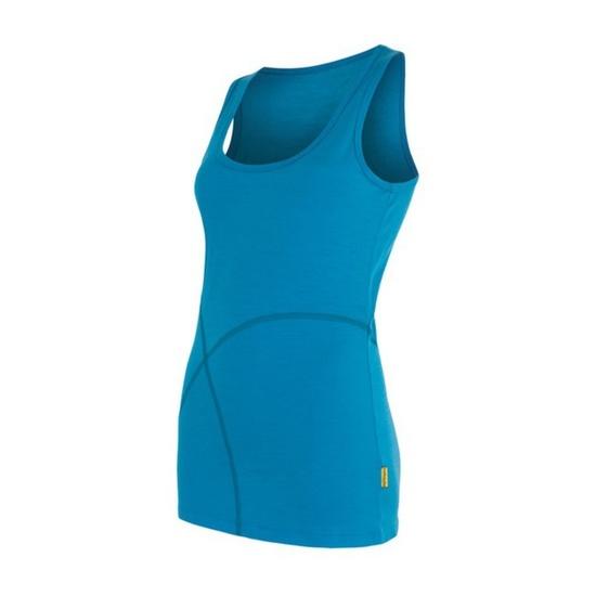 Dámsky nátelník Sensor Merino Wool Active modrá 16100010 L