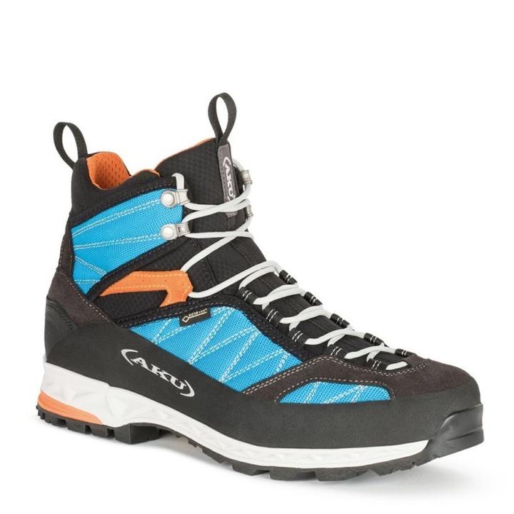 Topánky pánske AKU Tengu Lite GTX modro / oranžová 10 UK